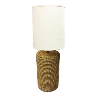 Oversized Rope Base Table Lamp