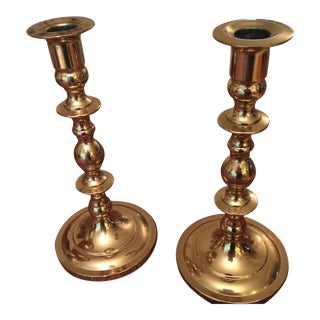 Baldwin Brass Candlesticks - A Pair