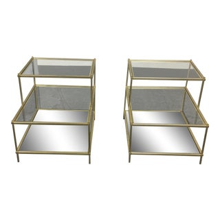 West Elm Terrace Side Tables - A Pair