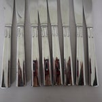 Image of Modern Stainless Flatware Set