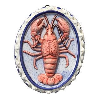 Majolica Style Lobster Platter