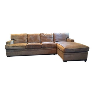 Stickley 2 Piece Sectional Sofa