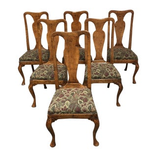 Guy Chaddock Queen Ann Chairs - Set of 6