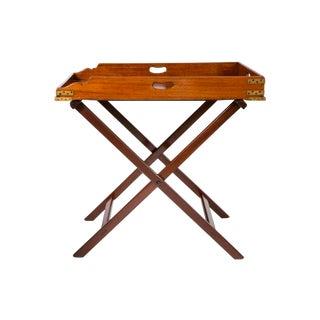 Mahogany Butler's Tray Table