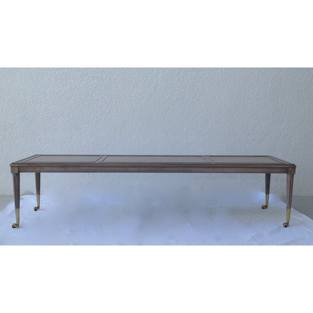 Image of Italian Hollywood Regency Long Cocktail Table