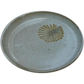 Mid-Century Studio Pottery Platter