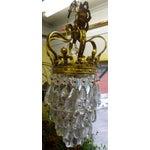 Image of Fleur De Lis Vintage Victorian Crown Chandelier