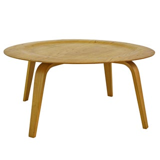 Eames Molded Blonde Plywood Coffee Table - 8 Avail