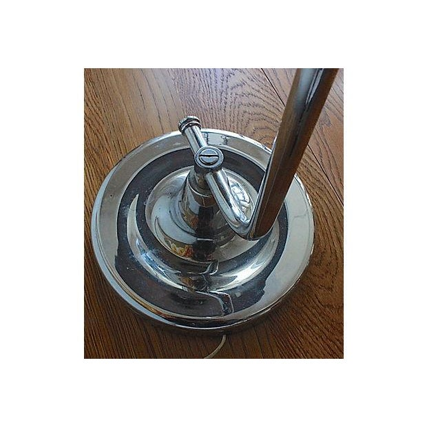Art Deco Chrome Table Lamp - Image 4 of 5