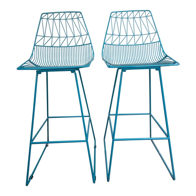 """""""Lucy"""" Bar Stools - A Pair - Image 1 of 5"""
