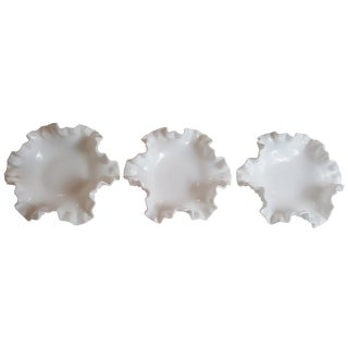 Hobnail Bon Bon Bowls - Set of 3