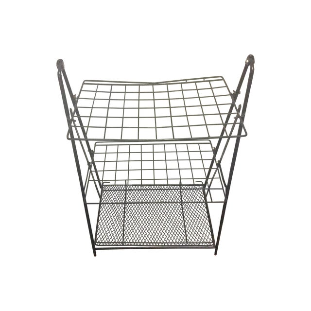 Image of Industrial Three-Tier Wire Rack