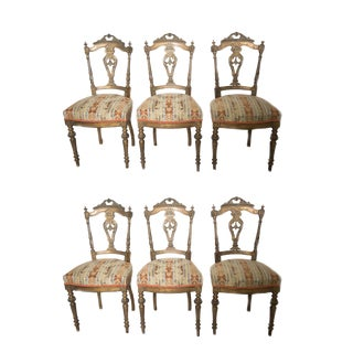 Louis XVI Style Chairs - Set of 6