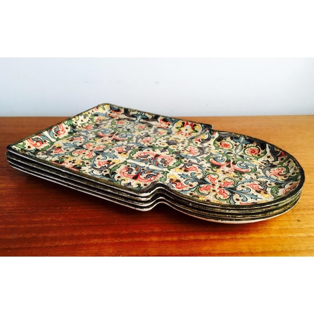 1960's Mod Stacking Serving Plates - Image 2 of 7