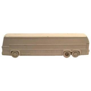 Rare Resin Prototype Model for a Bus, circa 1970s