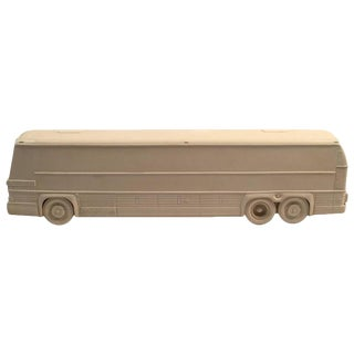 Rare Resin Prototype Model for a Bus, circa 1970s