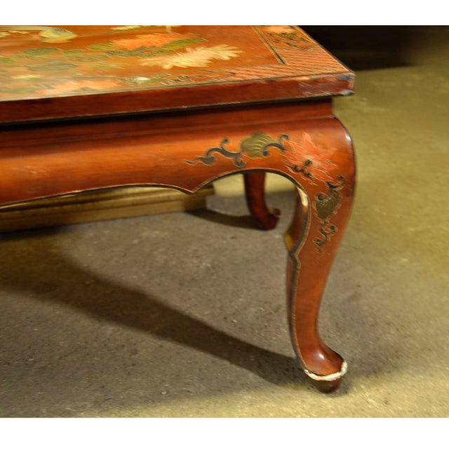 Vintage Asian Style Coffee Table - Image 8 of 8