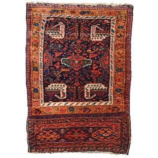 "Antique Persian Kurdish Rug - 1'10"" x 2'7"""