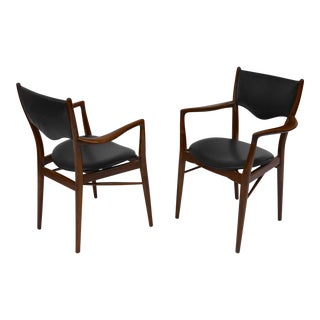 Pair of Armchairs by Finn Juhl, Bovirke Denmark, 1946