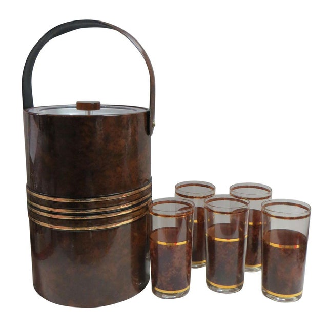 Briard Tortoise Bar Set - Set of 7 - Image 1 of 3