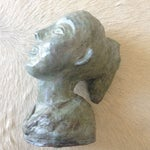 Image of 1956 Bust Sculpture of Girl