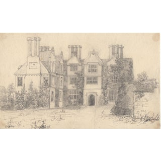 1850s Old House of Hollingbourne Drawing