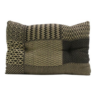 Geometric Patchwork Handloom Pillow