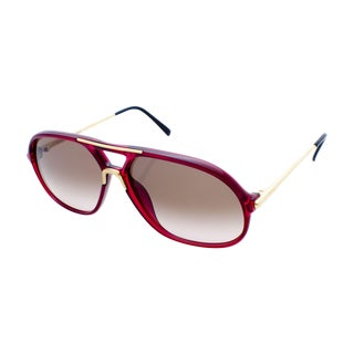 Carrera Red & Gold Aviator Sunglasses
