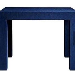 Bungalow Parsons Blue Side Tables - Pair