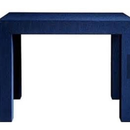 Image of Bungalow Parsons Blue Side Tables - Pair