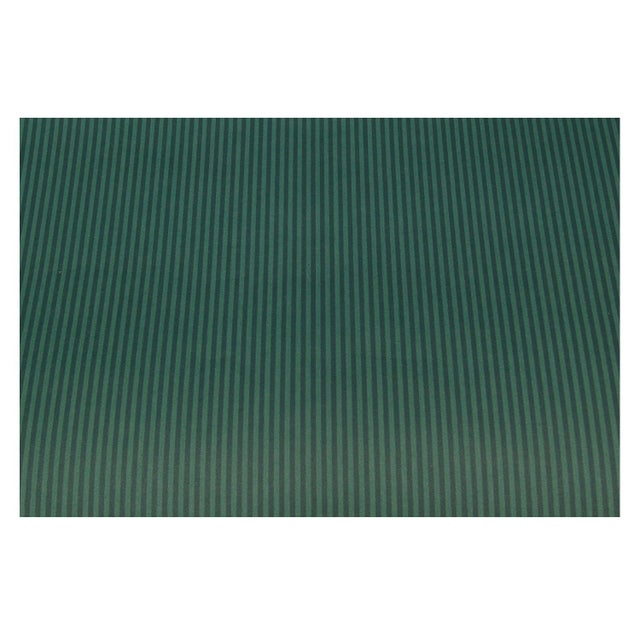Image of Vintage Clarence House Stripe Blue Green Wallpaper