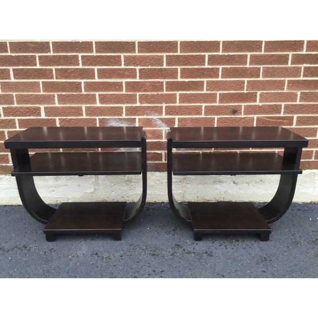 Art Deco Side Tables by Brown Saltman - Pair - Image 3 of 9