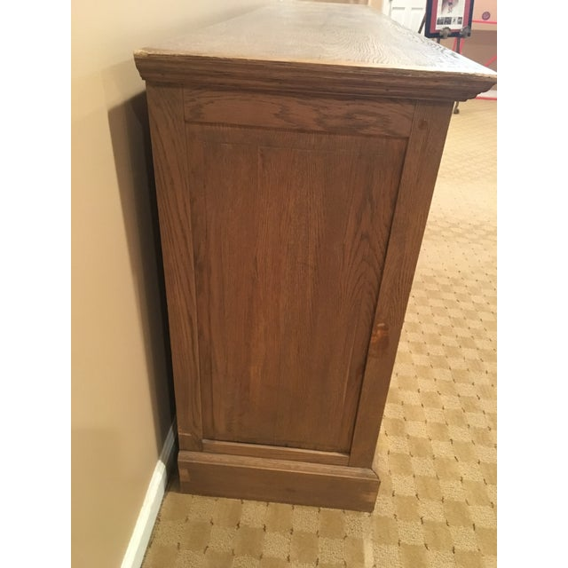 Restoration hardware french low cabinet chairish - Restoration hardware cabinets ...