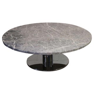 Large Stone Top Coffee Table