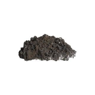 Volcanic Black Crystal Geode Mineral Specimen