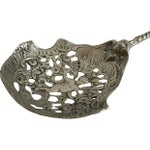Image of Silver Cherub Fork & Spoon Serving Set - A Pair