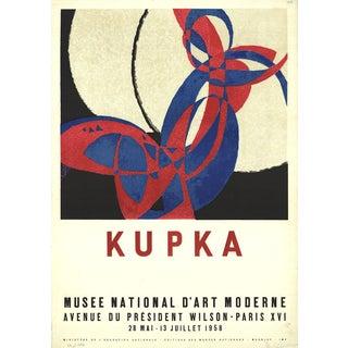 "Franz Kupka ""Musee National d'Art Moderne"" 1958 Mourlot Lithograph"