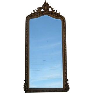 19th Century Gold Gilt Wall Mirror