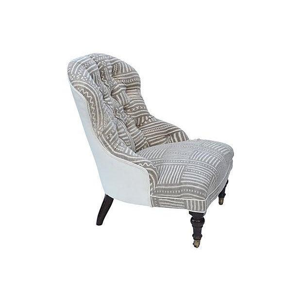Mudcloth Boudoir Chair - Image 7 of 9
