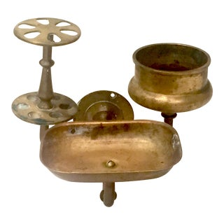 Vintage Brass Bathroom Wall Fixture