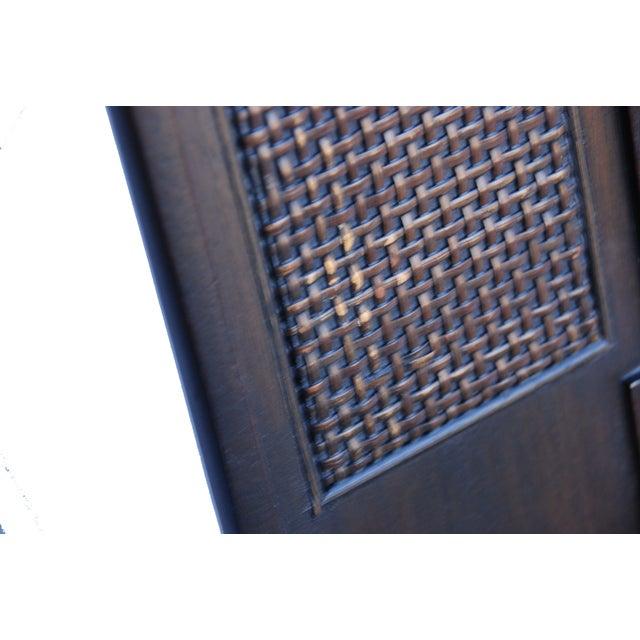 John Widdicomb Burl Walnut Dining Chairs - S/6 - Image 6 of 10