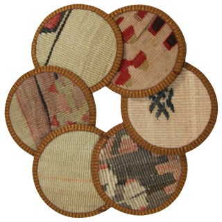 Kilim Coasters Set of 6 - Yeni