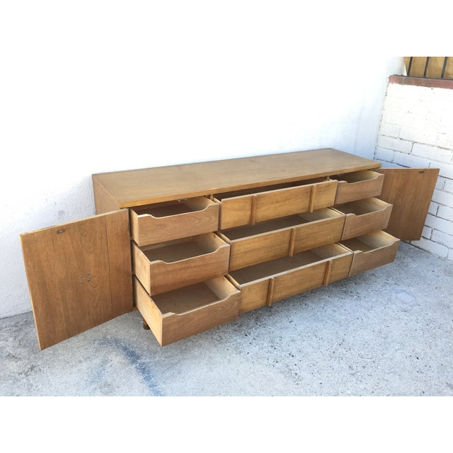Mid-Century Solid Wood Dresser - Image 4 of 11