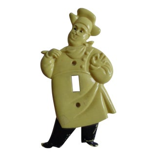 Mid-Century Engel Chef Lightswitch Cover
