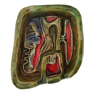 1960's Venezuelan Glazed Pottery Dish