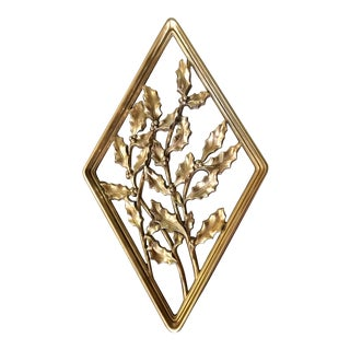 Vintage Gold Wall Hanging