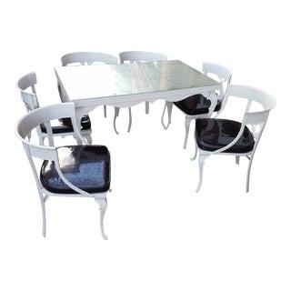 Aluminum Vintage Molla Patio Set