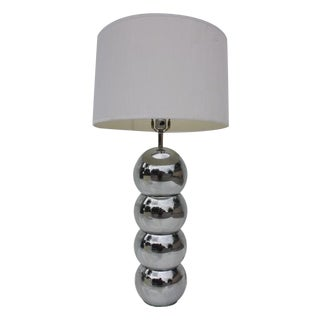 George Kovacs Stacking Chrome Ball Lamp
