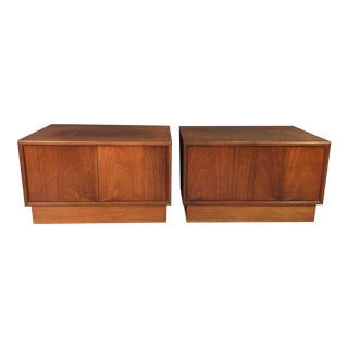 Danish Modern Teak Cabinets - A Pair