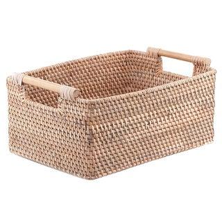 Balinese Woven Handled Basket